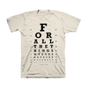 Thumbnail of Eye Chart Tee (Natural)