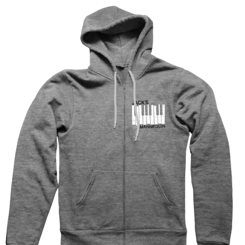Piano Keys Zip Up
