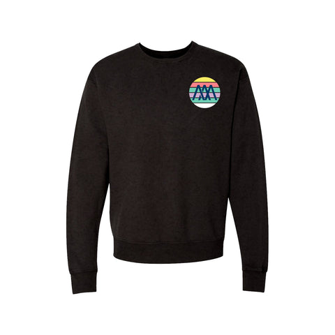 Retro Wave Crewneck