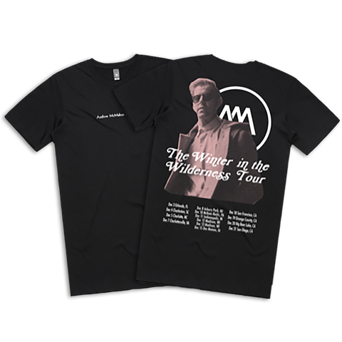 AM And His Piano Black Tour Tee