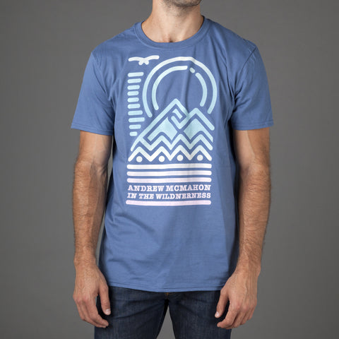 Neon Mountains Tee