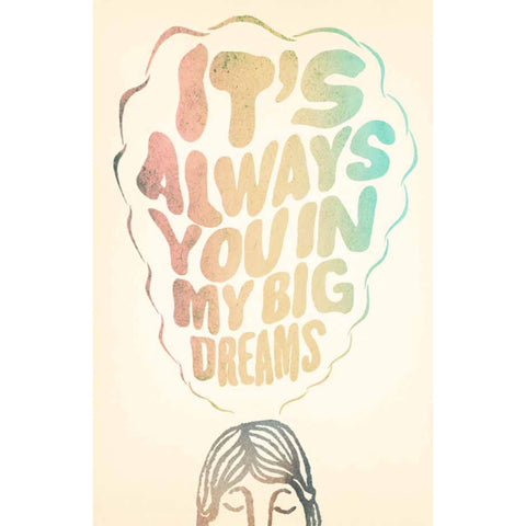 Big Dreams Poster (autographed)