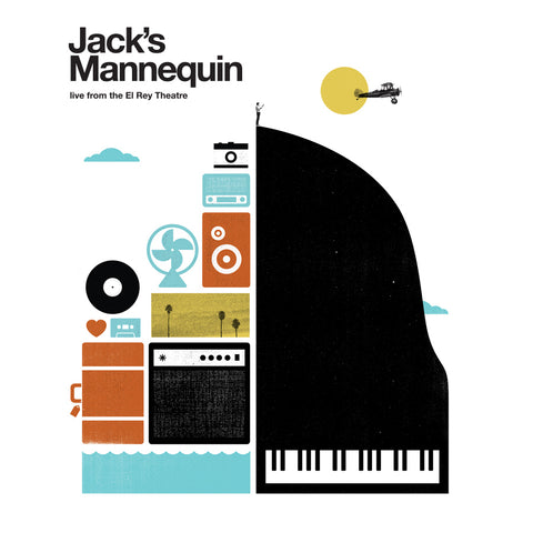 Jack's Mannequin Live at the El ReyTheatre CD/DVD