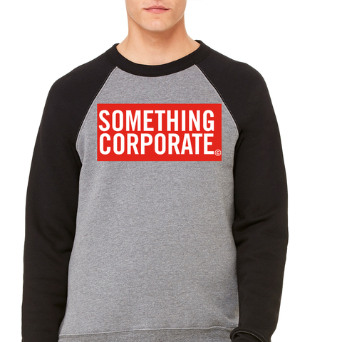 Something Corporate Logo Crew Neck Sweatshirt