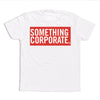Thumbnail of Something Corporate Logo Tee White