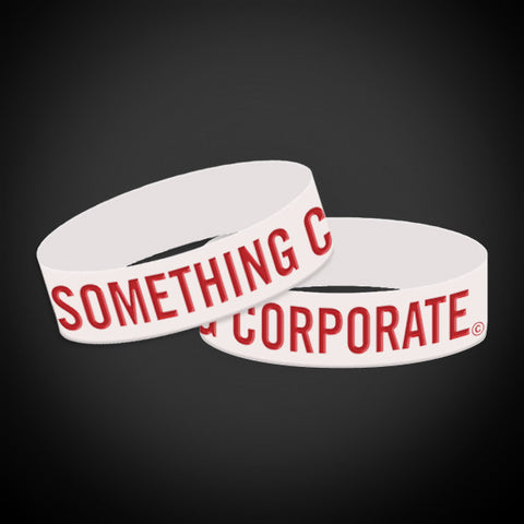 Something Corporate Wristband