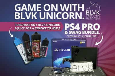Game on with BLVK Unicorn!