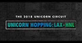 BLVK Unicorn Hopping: LAX to HNL - Pop Up Events at VOLCANO