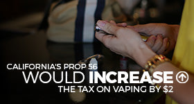 California's Prop 56 May Just Place A $2 Tax Hike On Vaping