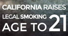 California's Legal Smoking Age Is Now 21