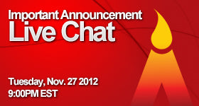 Company Announcement - Live Chat
