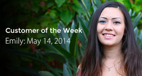 VOLCANO eCigs' Customer of the Week - Emily