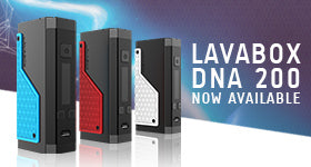 Now Available: LAVABOX DNA 200 Box Mod