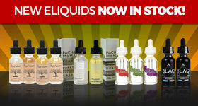 Your Favorite E-Juice Brands Now At VOLCANO