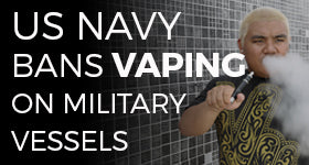 The US Navy Has Banned E-Cigs Onboard Vessels