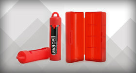 Keep Your Batteries Safely Stored With Our New Battery Sleeve & Hard Case