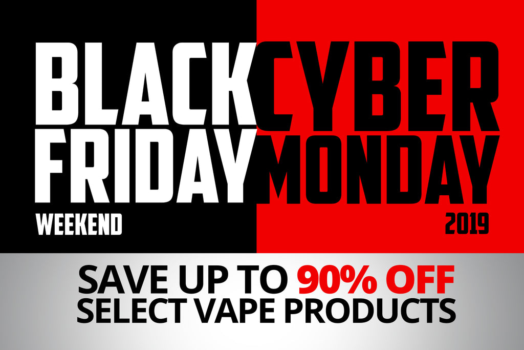 VOLCANO Black Friday & Cyber Monday 2019