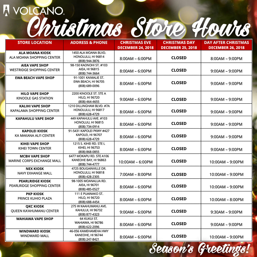 volcano-christmas-2018-store-hours