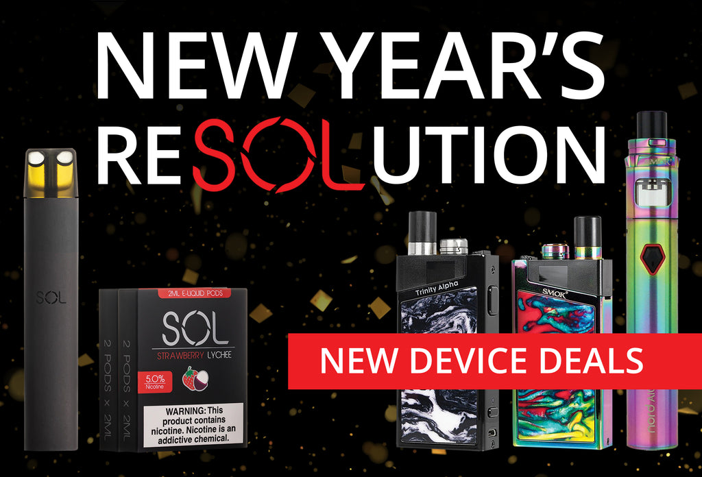 VOLCANO eCigs New Year Promo