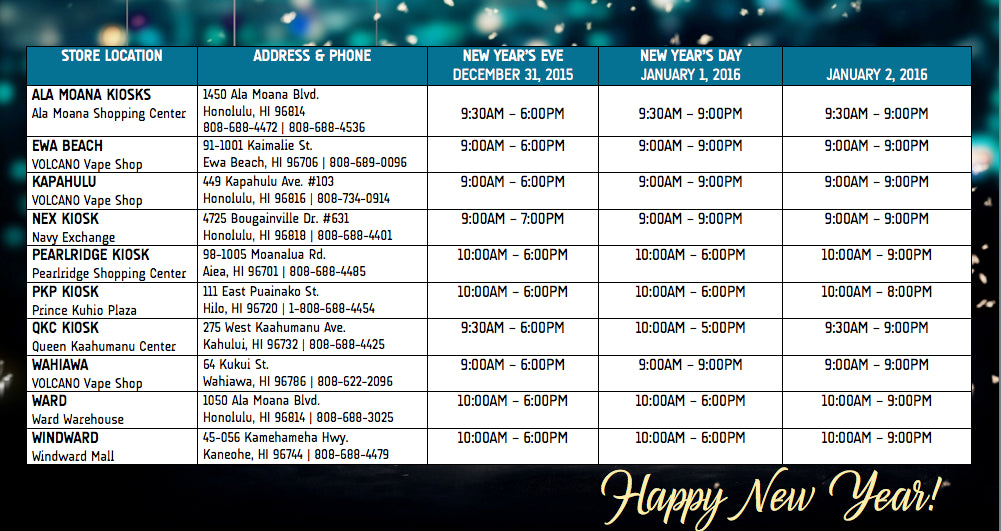 volcano-new-years-store-schedule-2015
