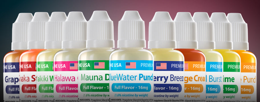 Summer eLiquid Blends
