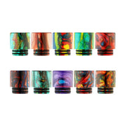 Epoxy Resin Wide Bore Drip Tip - 810 Multi-Colored