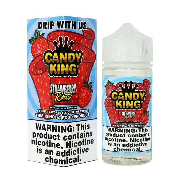 Candy King - Strawberry Rolls - 100mL