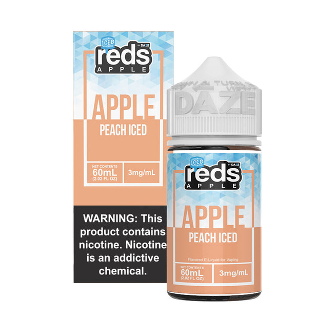 7 Daze - Reds Apple Peach Iced - 60ML