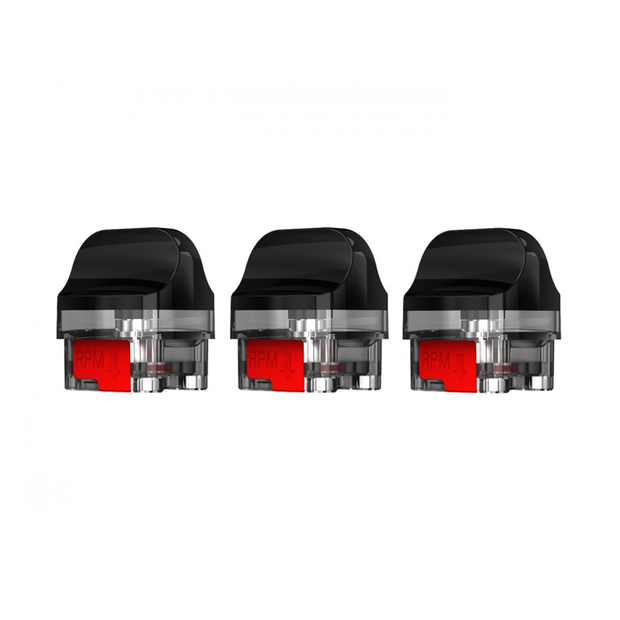 Smok Tech - RPM 2 Empty Replacement Pods - 7ML - 3 Count