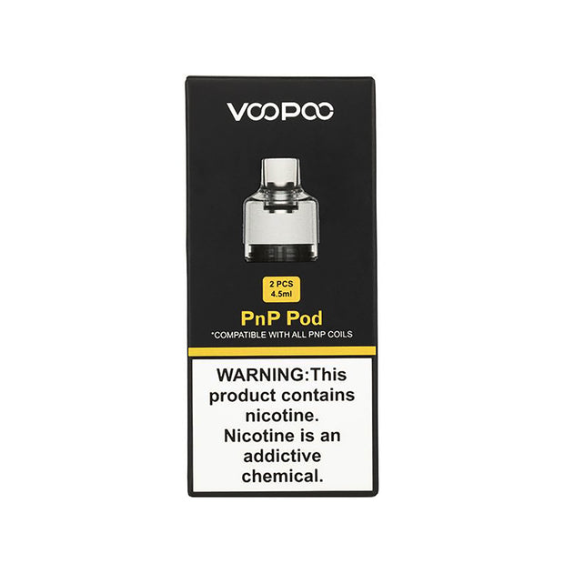 VooPoo - Drag PnP Empty Replacement Pod - 2 Count - 4.5mL