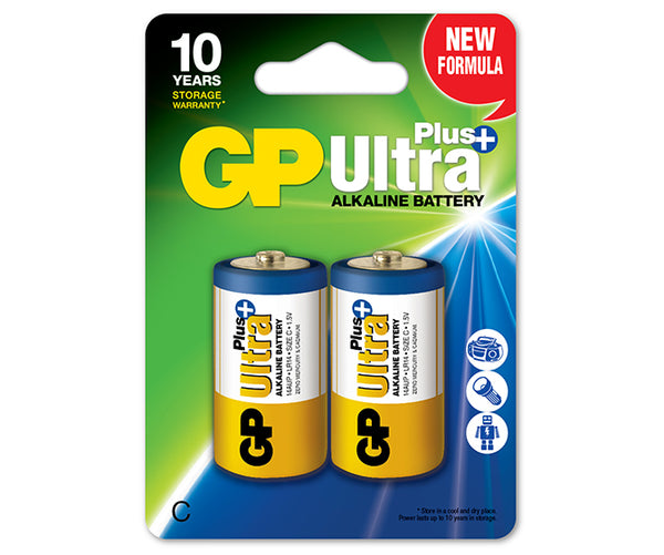 Baterie GP Ultra Plus Alkaline C