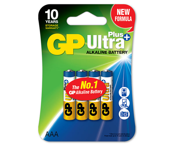 Baterie GP Ultra Plus Alkaline AAA