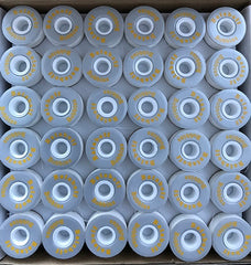 "A1 GOLD Papersided Bobbins WHITE          "" Premium Quality"""