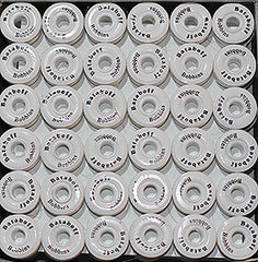 "PAPERSIDED WHITE BATABOFF PRE-WOUND EMBROIDERY BOBBINS ""L"""
