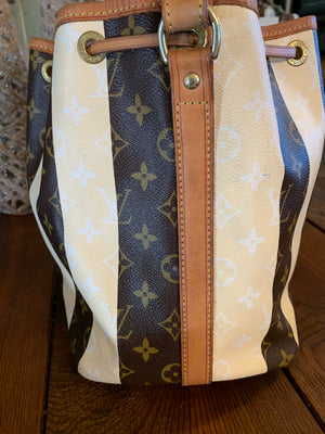 Louis Vuitton Limited Edition Petit Noe Monogram Rayures