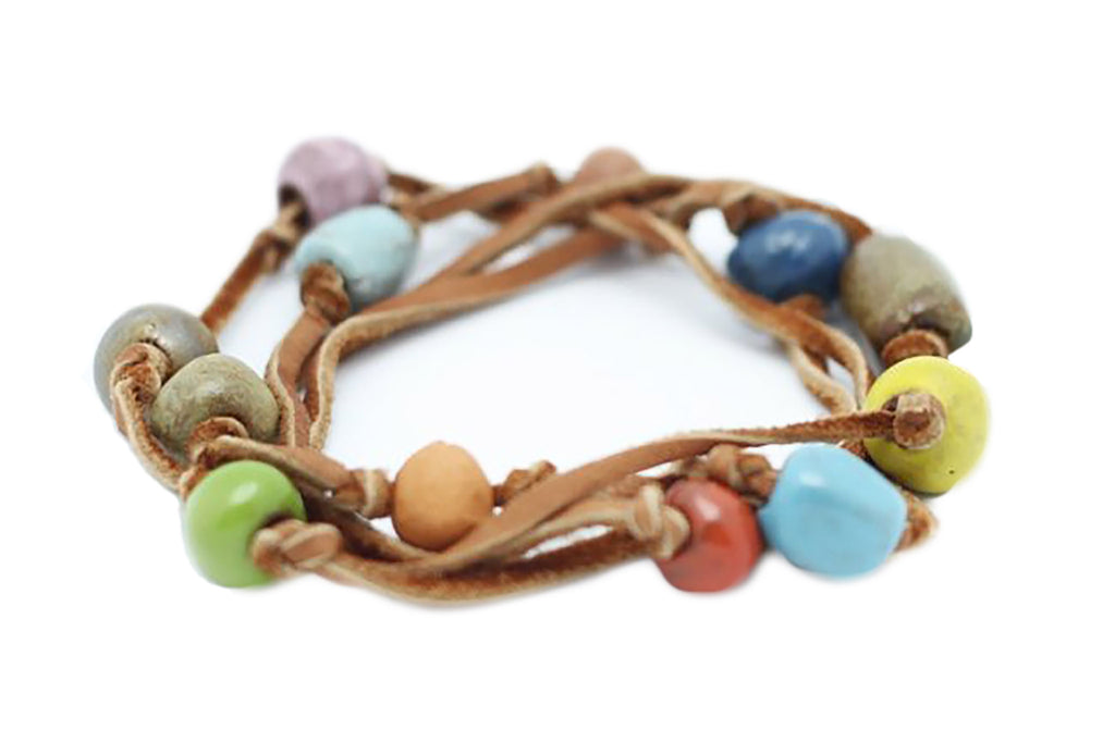 haiti bracelet bracelets from haiti leather wrap jesus economy 4428