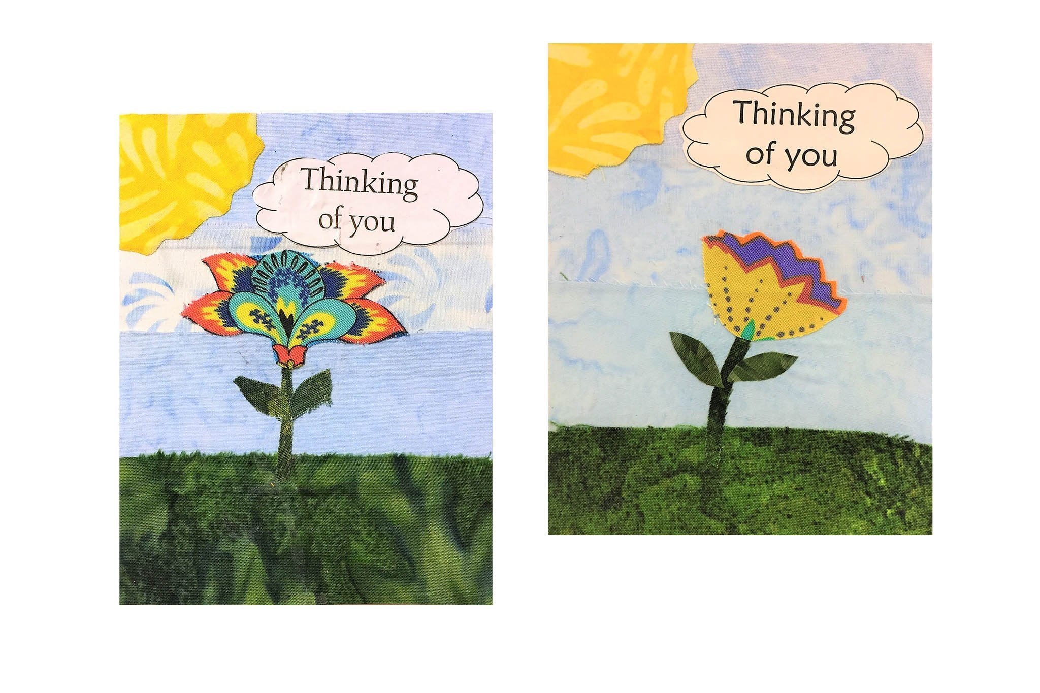 Greeting Cards From Haiti Thinking Of You With Flower Jesus Economy