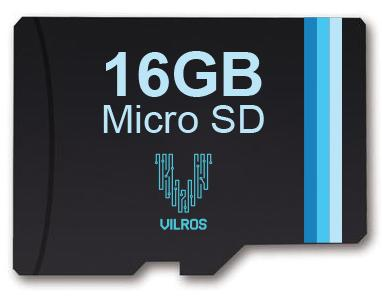 Vilros Micro SD Card Pre-loaded with NOOBS and SD/Micro SD adapter Adapter