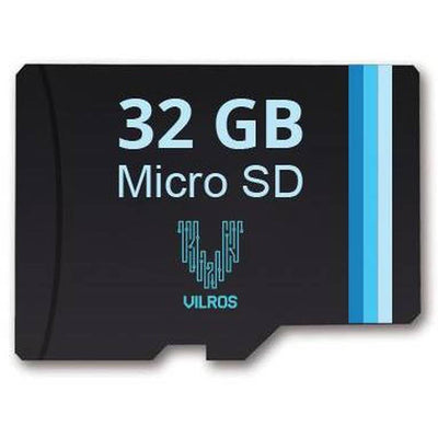 32 GB Vilros Micro SD Card and Adapter - NOOBS Pre-loaded - Vilros.com