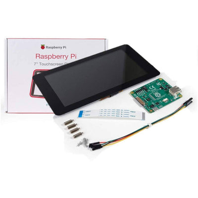 Vilros Raspberry Pi 4 Desktop with Official 7 Inch Touchscreen and 10 inch Keyboard/Touchpad