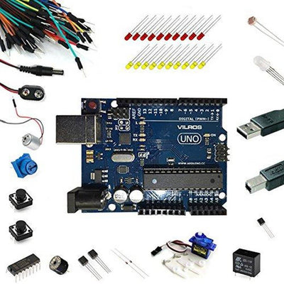 Vilros Uno Comparable to Arduino Uno R3 Ultimate Starter Kit