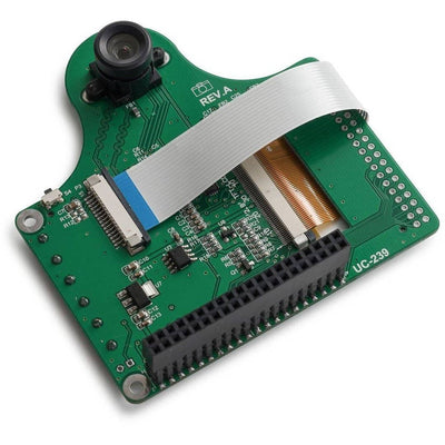 Raspberry Pi LCD with 5MP Camera Module