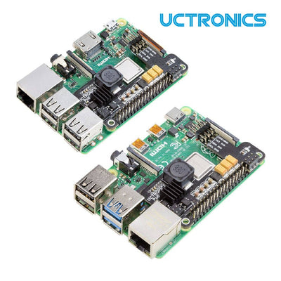 UCTRONICS Mini Power over Ethernet Expansion Board