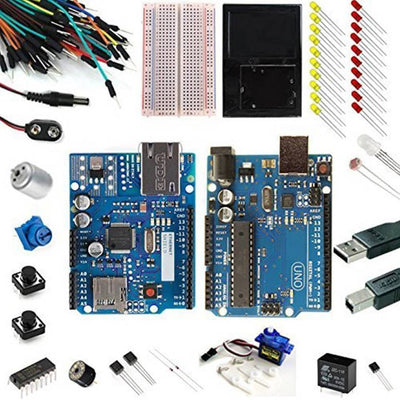 Arduino Uno Ultimate + Ethernet Starter Kit - Vilros.com