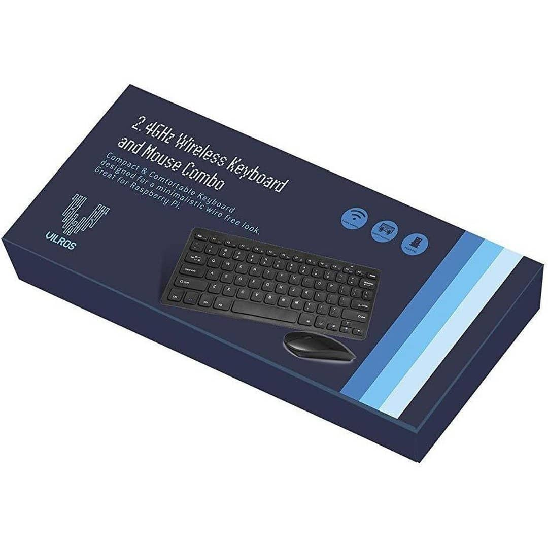 Vilros Wireless Keyboard and Mouse Combo   vilros com   Free