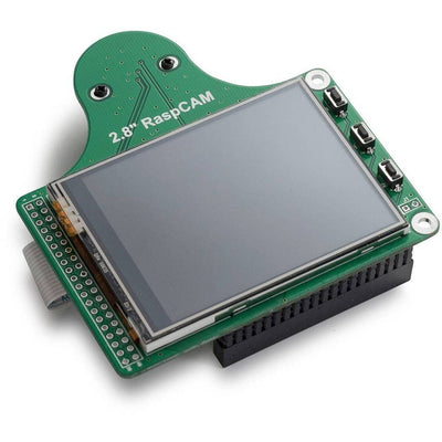 Raspberry Pi LCD with 5MP Camera Module - Vilros.com