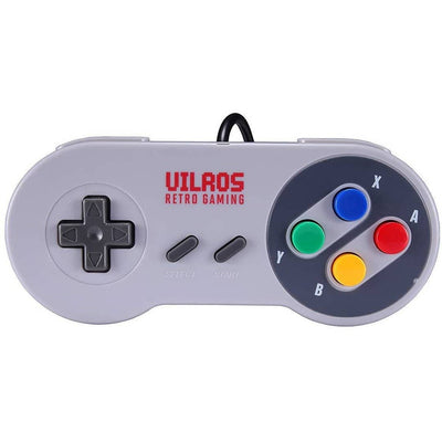 Vilros Retro Pie Arcade Gaming Accessory Kit with a Classic USB Gamepad