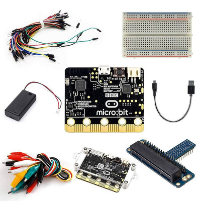 Vilros Project Starter Kit for BBC Microbit Includes Official BBC Microbit-Breakout Board and 7 Essential Accessories