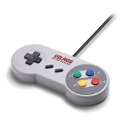 Vilros SNES Classic Weighted USB Gamepad