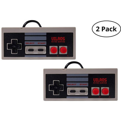 Vilros Raspberry Pi 3 Model B+ (B Plus) NES Style Retro Arcade Gaming Kit with 2 NES Style Gamepads & NES Style Fan-Cooled Case - Vilros.com
